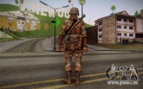 U.S. Soldier v3 pour GTA San Andreas deuxième écran