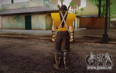 Klassiker Scorpion из MK9 DLC für GTA San Andreas zweiten Screenshot