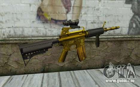 Or M4 avec une vue pour GTA San Andreas deuxième écran