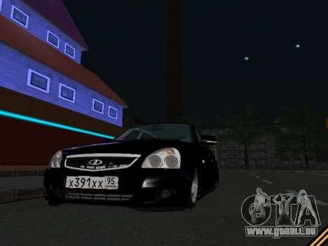 Lada 2170 Priora pour GTA San Andreas salon