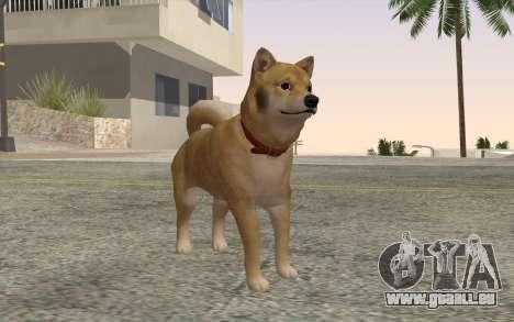 Chien pour GTA San Andreas