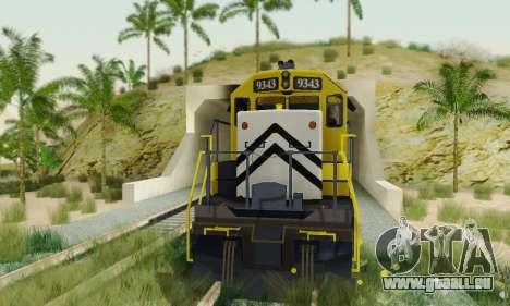 GTA V Trem 2 pour GTA San Andreas vue de droite
