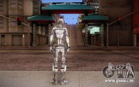 Zer0 из Borderlands 2 pour GTA San Andreas deuxième écran