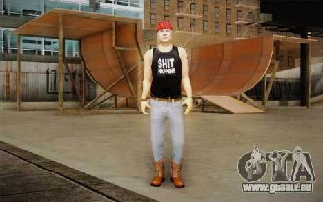 Axl Rose Skin v2 für GTA San Andreas