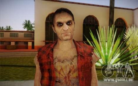 Neue Obdachlose für GTA San Andreas dritten Screenshot