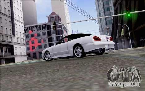 Elegy Kiss the Wall für GTA San Andreas linke Ansicht
