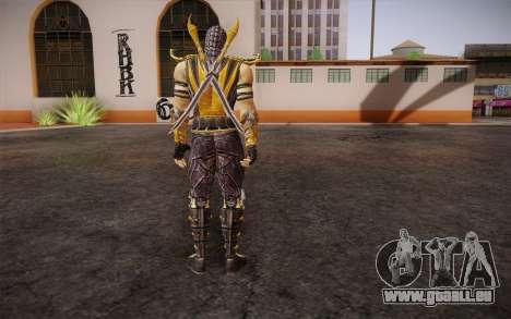 Scorpion из Mortal Kombat 9 pour GTA San Andreas deuxième écran