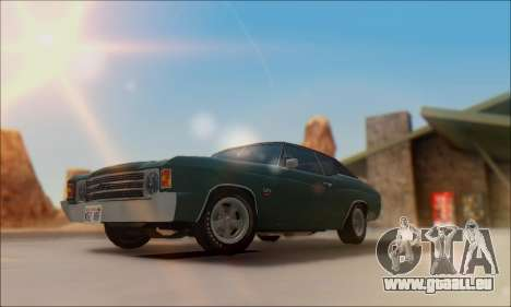 Chevrolet Chevelle SS 454 1971 pour GTA San Andreas