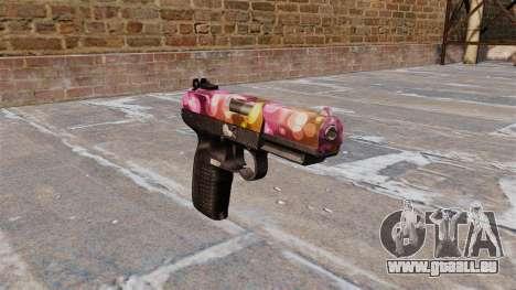 Pistole FN Fünf von sieben Punkten für GTA 4