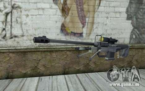 Sniper Rifle from Halo 3 für GTA San Andreas