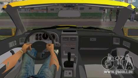 Mazda Savanna RX-7 III (FC3S) für GTA Vice City rechten Ansicht