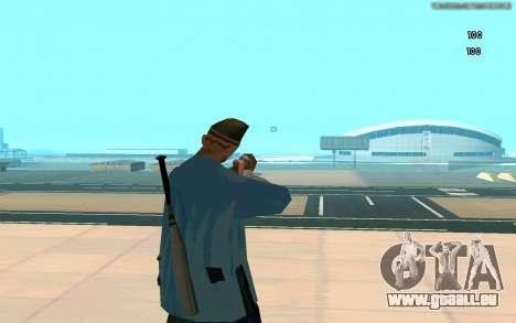 Éternelle de vue pour GTA San Andreas troisième écran