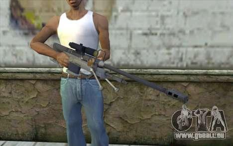Sniper Rifle from Halo 3 pour GTA San Andreas troisième écran