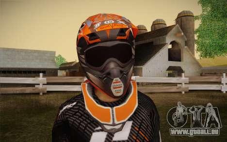 One Industries Vapor 2013 pour GTA San Andreas troisième écran