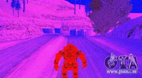 TitanFall Atlas pour GTA San Andreas neuvième écran