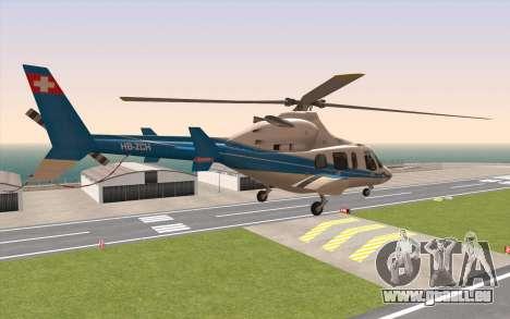 Bell 430 für GTA San Andreas linke Ansicht