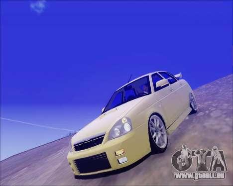 Lada 2170 Priora Tuneable für GTA San Andreas