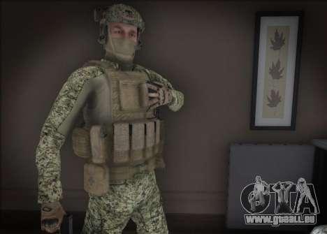 Alfa Antiterroriste A pour GTA San Andreas troisième écran
