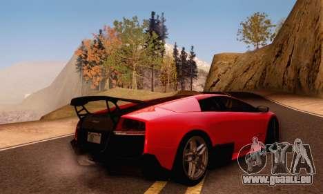 Lamborghini Murcielago LP670-4 SV pour GTA San Andreas vue de côté