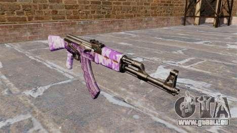 L'AK-47 Violet camo pour GTA 4