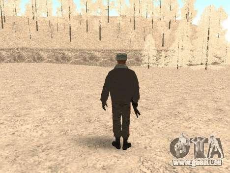 Un capitaine de police pour GTA San Andreas troisième écran