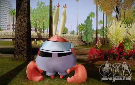 M. Crabes pour GTA San Andreas deuxième écran