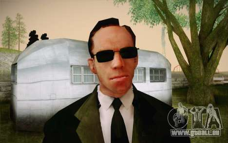 Agent Smith from Matrix für GTA San Andreas dritten Screenshot