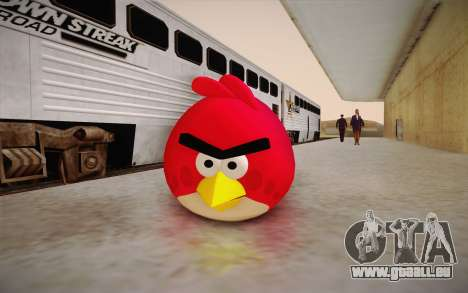 Red Bird from Angry Birds pour GTA San Andreas