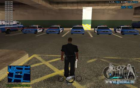 C-HUD by Miki pour GTA San Andreas