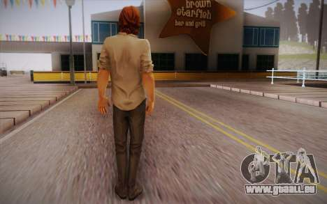Bigby Wolf pour GTA San Andreas deuxième écran