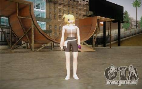 Lucy Heartfilia pour GTA San Andreas