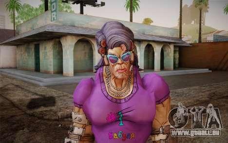 Oma Flexington из Borderlands 2 für GTA San Andreas dritten Screenshot