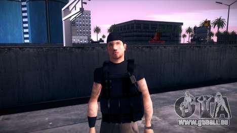 Special Weapons and Tactics Officer Version 4.0 pour GTA San Andreas neuvième écran