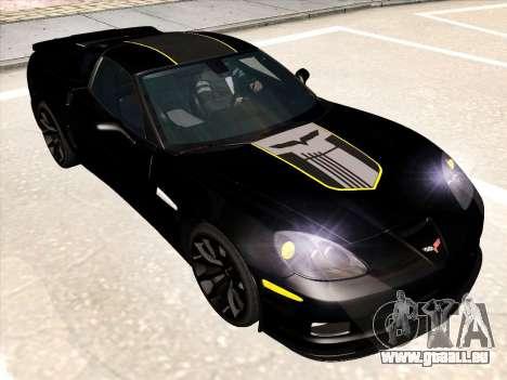 Chevrolet Corvette Grand Sport pour GTA San Andreas moteur