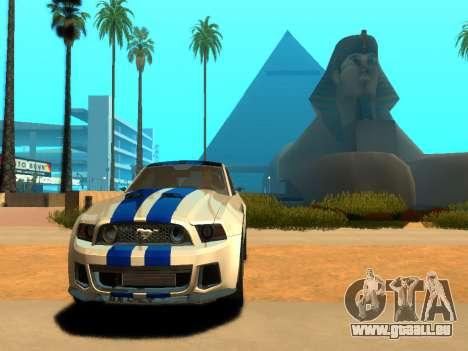 ENBSeries Realistic Beta v2.0 pour GTA San Andreas deuxième écran