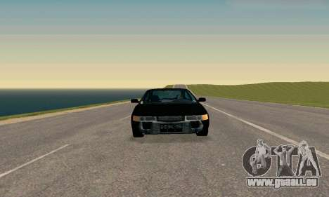 VAZ 21123 TURBO-Aufladung v2 für GTA San Andreas zurück linke Ansicht