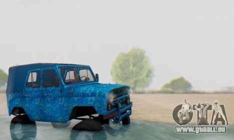 UAZ 469 Blue Star für GTA San Andreas