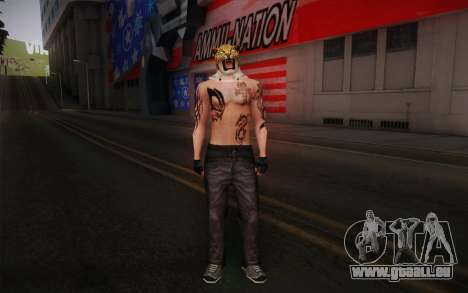 King from Tekken für GTA San Andreas