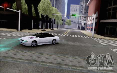 Elegy Kiss the Wall pour GTA San Andreas sur la vue arrière gauche