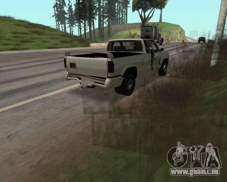 Nouveau Pick-Up pour GTA San Andreas vue intérieure