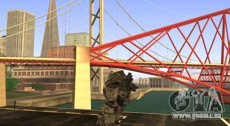 TitanFall Atlas pour GTA San Andreas troisième écran