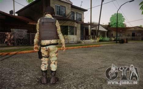 Desmadroso v6 pour GTA San Andreas deuxième écran