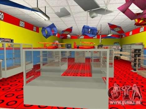 La boutique LEGO pour GTA San Andreas