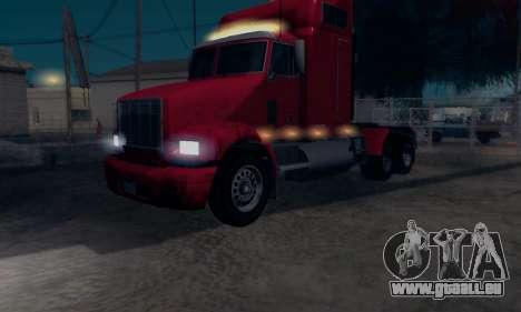 GTA V Packer pour GTA San Andreas sur la vue arrière gauche
