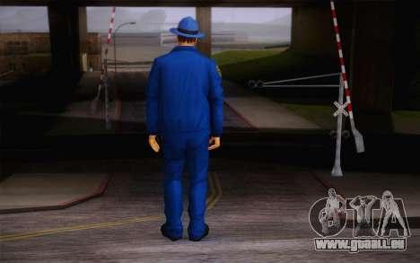 New Sheriff pour GTA San Andreas deuxième écran