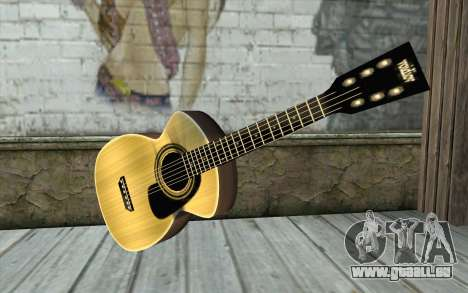 Acoustic Guitar für GTA San Andreas