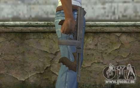 Maschine Thompson (Laub Bedeckt Abenteuer) für GTA San Andreas dritten Screenshot