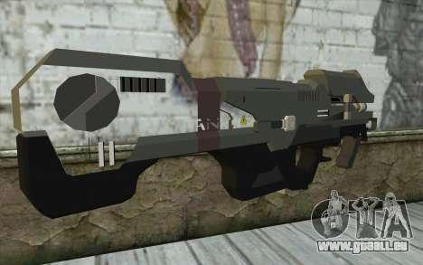 Halo Spartan Laser pour GTA San Andreas deuxième écran
