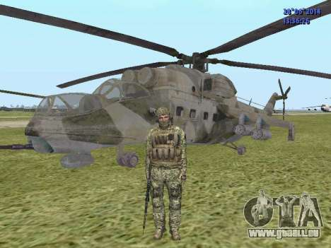 Alfa Antiterroriste A pour GTA San Andreas