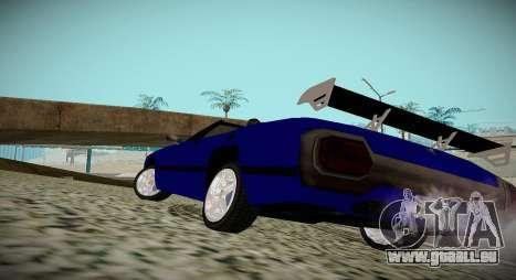 New Stallion pour GTA San Andreas laissé vue